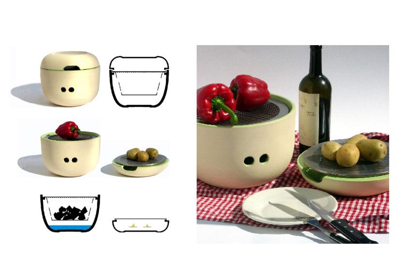 Ceramic Table Barbecue