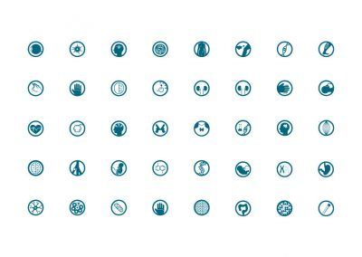MGZ – Medical Genetics Center Icons