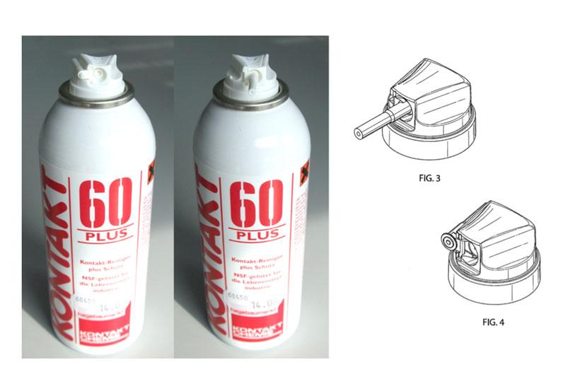 Lindal Dispenser Twist Actuator (patented)